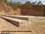 Under Construction Phar at F&V Market Khan Sahab Budgam