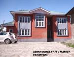 Admin Block at F&V Market Parimpora